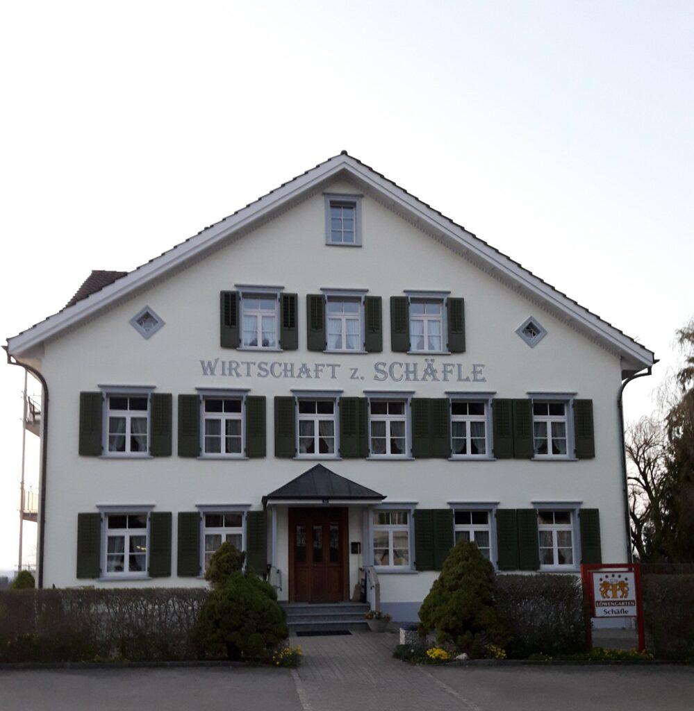 Restaurant Schäfli, Untereggen