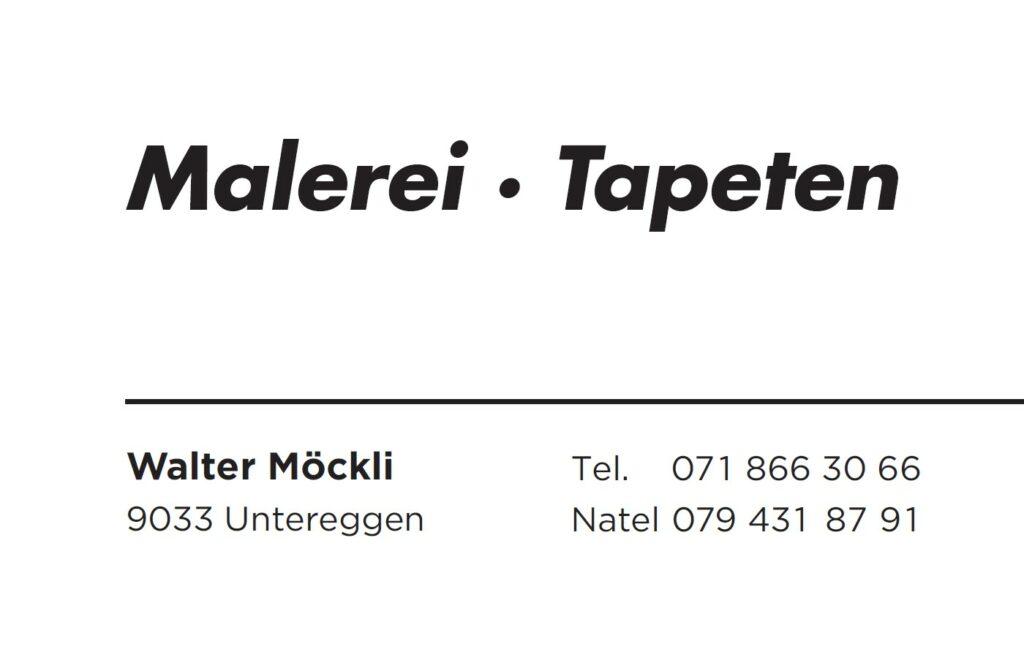 Walter Möckli Malergeschaft
